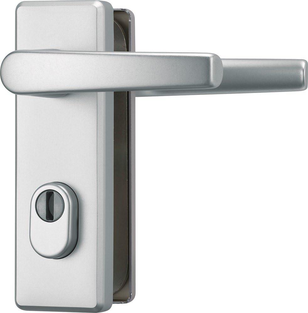 ABUS KKZS700 F1 EK 207266 - Blindaje para cerraduras de portal (aluminio, para puertas de izquierda y derecha)