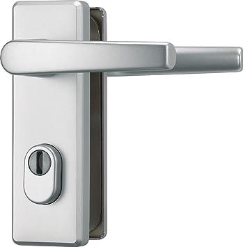 ABUS KKZS700 F1 EK 207266 - Blindaje para cerraduras de portal (aluminio, para puertas de izquierda y derecha): Amazon.es: Bricolaje y herramientas