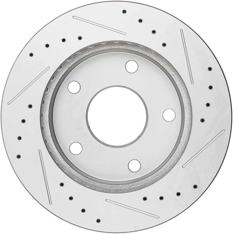 Dodge Ram 1500 4WD 00-01 Drill Slot Brake Rotors FRONT