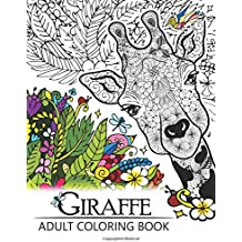 Giraffe Adult Coloring Book Designs With Henna Paisley And Mandala Style Patterns Animal Books