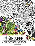 #4: Giraffe Adult Coloring Book: Designs with Henna, Paisley and Mandala Style Patterns Animal Coloring Books