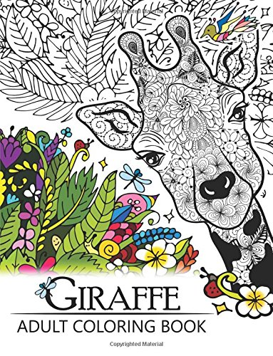 Giraffe Adult Coloring Book Patterns product image