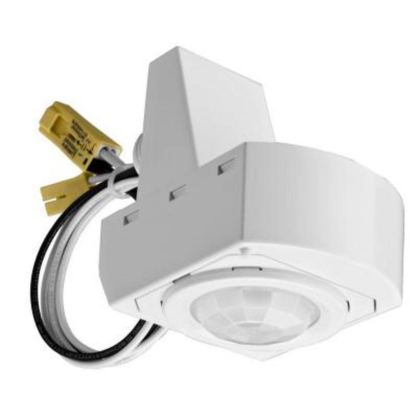 Sensor Switch MSX12 M4 Fixture Mount Occupancy Sensor, White