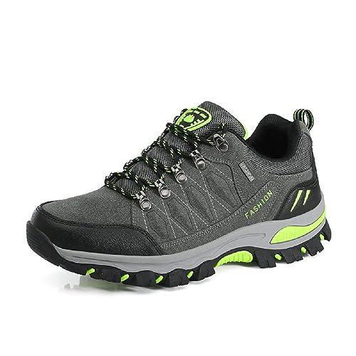 ... Scarpe da Calzature da Escursionismo Basse Montagna Arrampicata  Antinfortunistica Estate Outdoor Sneakers 35-45 Grigio 40  Amazon.it  Scarpe  e borse 8745a0e8b87