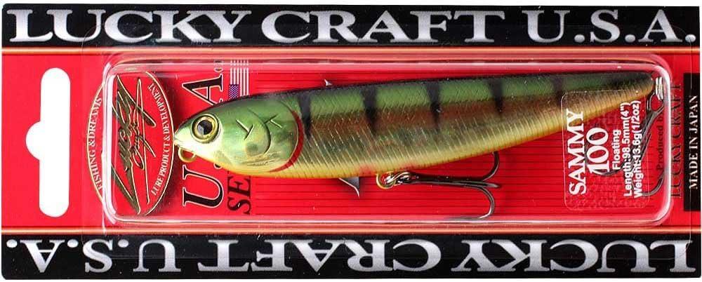 LUCKY CRAFT Sammy 100-256 Aurora Gold