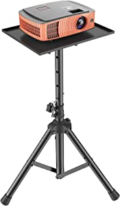 Projector Laptop Stand, Multifunctional DJ Racks Stand, Adjustable Height Tripod, Foldable Computer Notebook Stand, Perfect for Home, Office, Studio or Stage by AMADA HOMEFURNISHING