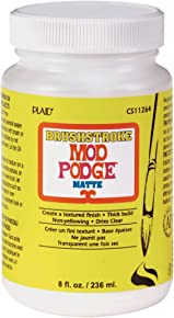 Mod Podge Brushstroke (8-Ounce), CS11264 Matte Finish