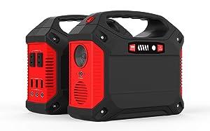M-WORKS 155Wh AC出力100W ポータブル電源