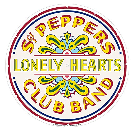 (Crosley AC1016A-SP Turntable Slip Mat, The Beatles SGT. Pepper's)