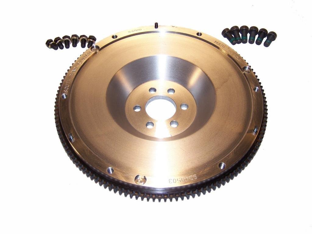 Amazon.com: South Bend Clutch SBCF0503 Single Mass Steel Flywheel - MK1 Audi TT 1.8T: Automotive