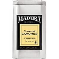 Madura Flowers of Camomile 40 Leaf Infusers in Tea Caddy, 1 x 72 g