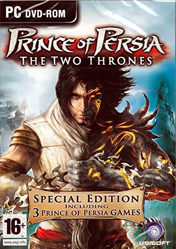 Prince of Persia Two Thrones (Special Edition 3 PC Games) The Two Thrones + The Sands of Time + Warrior Within