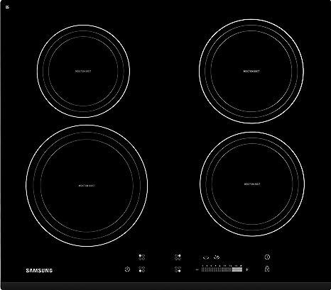 Samsung - Piano Cottura ad Induzione CTN464KB Finitura Vetro Nero ...