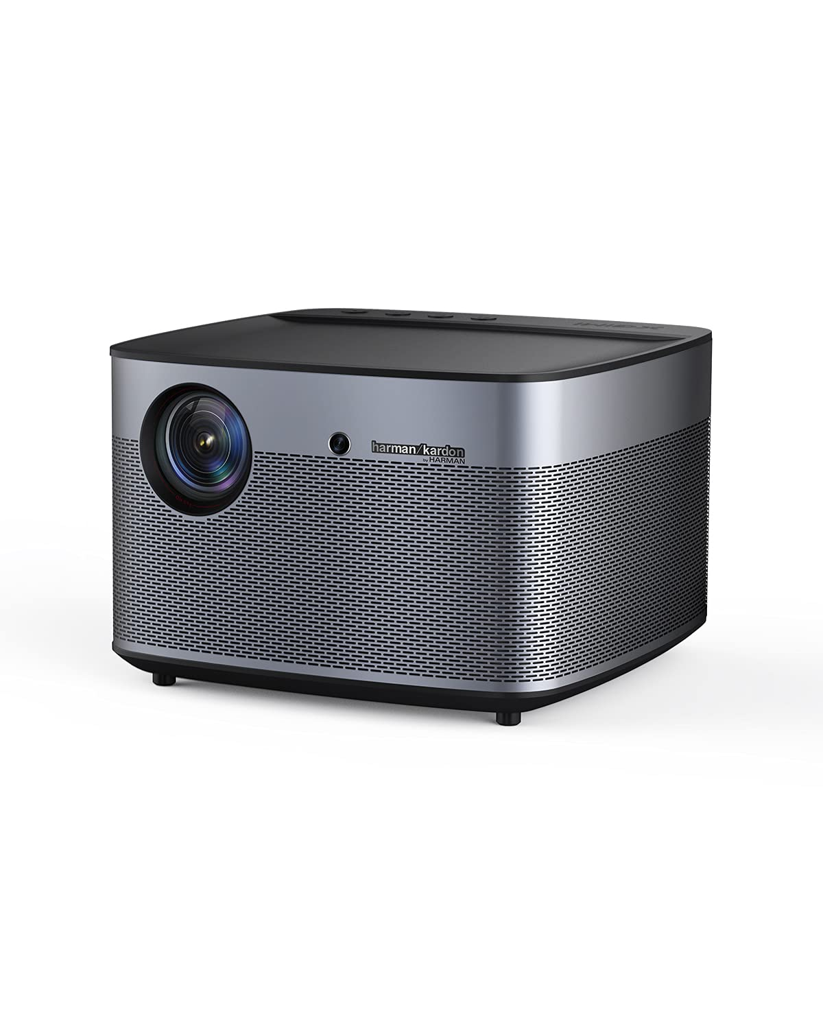 XGIMI H2 True 1080p Movie Projector, 4K Supported Smart Projector, 1350 ANSI Lumens Home Theater Projector, Integrated Harman Kardon Sound Bar, Auto Focus, Auto Keystone Correction, Android OS