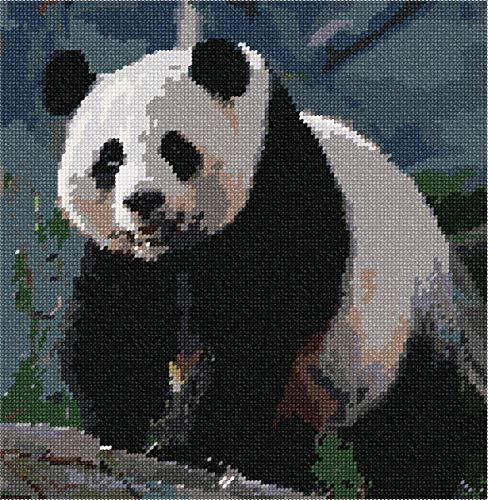 (Pepita Panda Needlepoint Canvas)