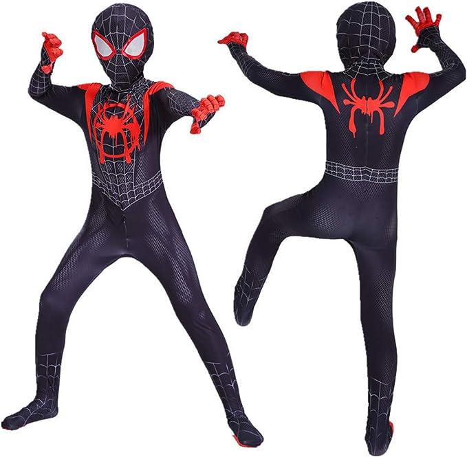 Amazon.com: Disfraz de superhéroe de Spider-Man para niños ...