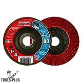 """DCX045080N01F 4-1/2"""" Flap Disc 80G"""