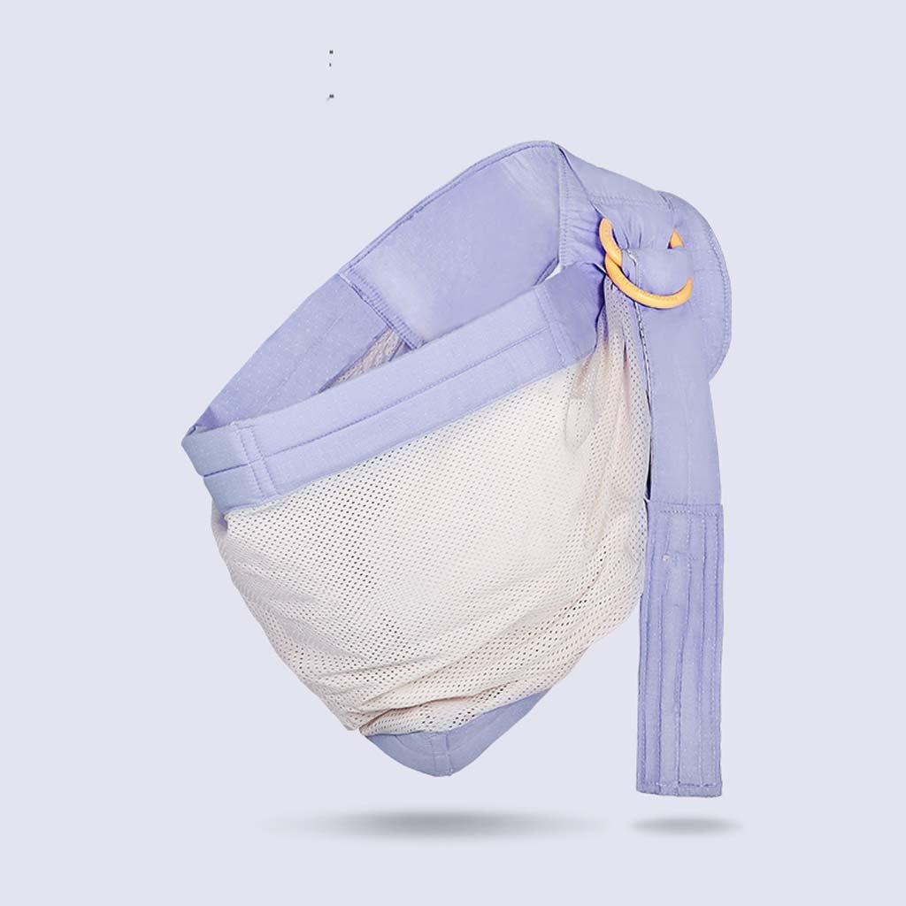 HONGREN Babytragen - Neugeborenen Vier Jahreszeiten Multifunktionale Atmungsaktive Vordertragetasche