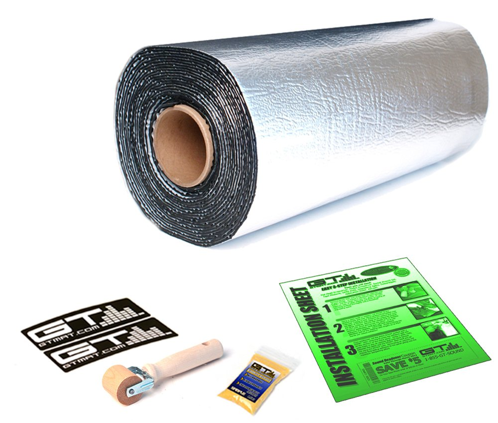 30sqft GTMat Pro 50mil Car Audio & Heat Shield Sound Deadener Material