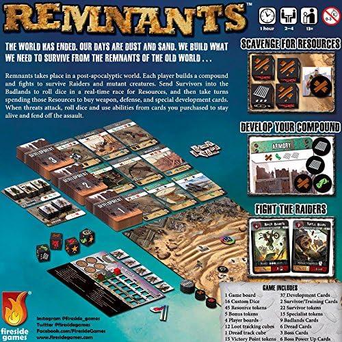 Fireside Games FSG01012 Remnants, Multicolor: Amazon.es: Juguetes y juegos