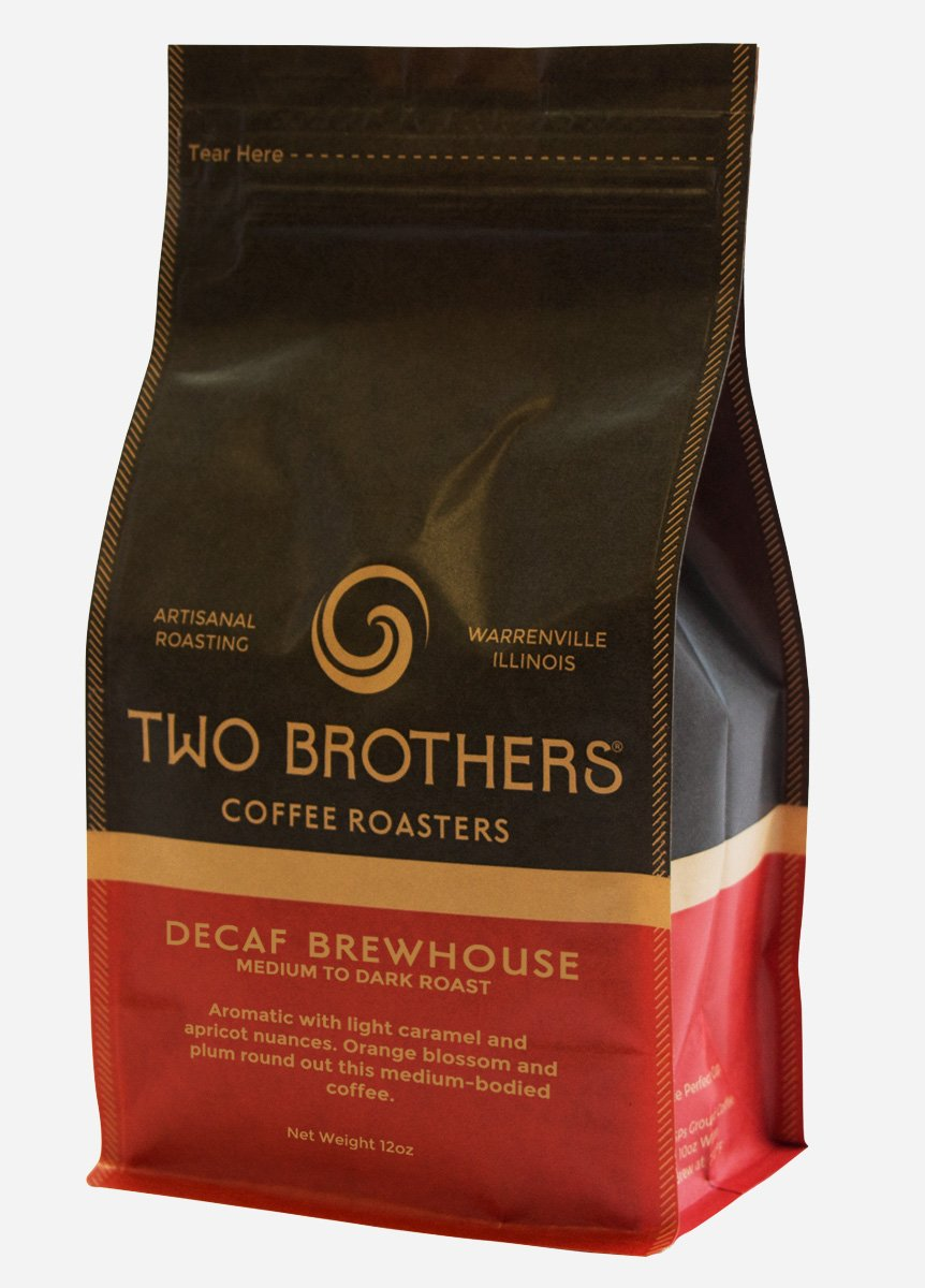 B01D3TVCKG Two Brothers Coffee Roasters Decaf Brewhouse (Fair Trade Certified) - 5lb - whole bean 61LA-fK2BlcL