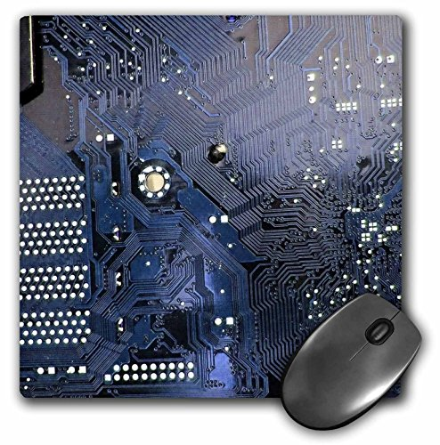 3drose-llc-8-x-8-x-025-inches-mouse-pad-blue-computer-chip-macro-photography-microchip-motherboard-e
