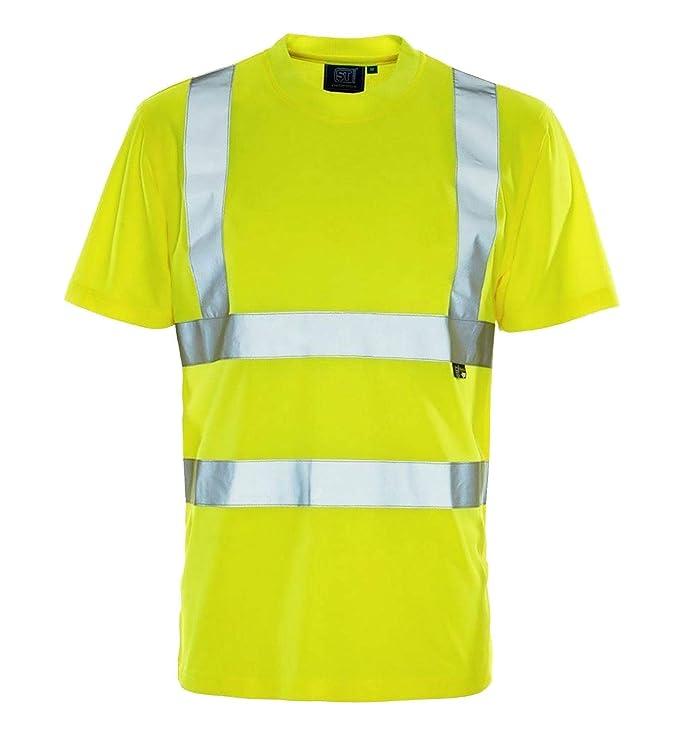 Islander Fashions Herren Langarm Hallo Vis T Shirt Womens