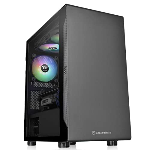 コンパクトサイズでコスパに優れたPCケース!Thermaltake S100 TG