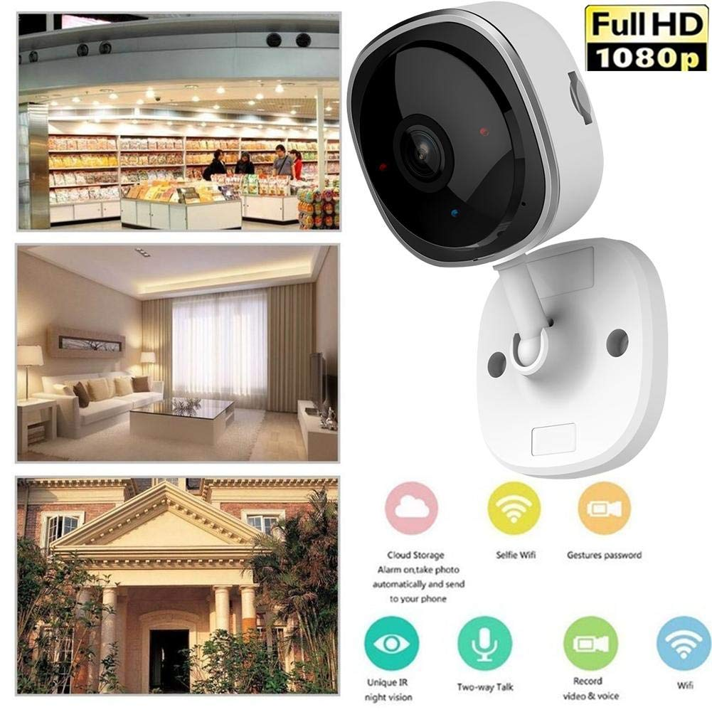 Amazon.com: Puremood Surveillance Camera 200W Panoramic 180 Degree Home Remote Camera Nightvision Camera 1080P HD Indoor IP Camera Home Wireless Camera: ...
