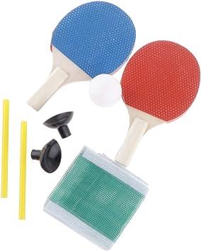 tennis de table chauve-souris pour Senston tennis de table chauve-souris et balles de ping pong raquette jeux