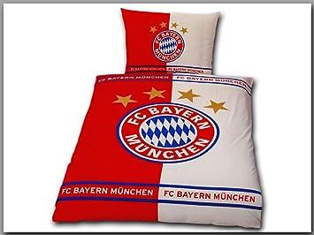 Fc Bayern München Renforcé Bettwäsche 1 X Kissenbezug 80 X 80 Cm