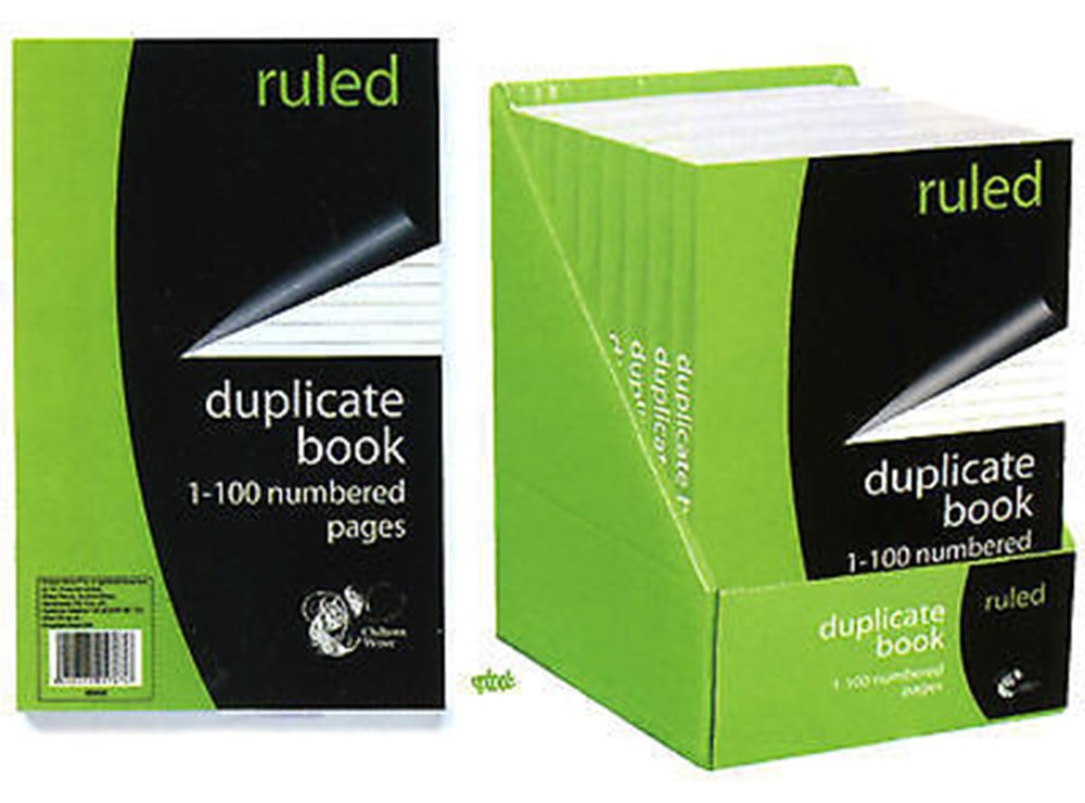 Duplicare Libro - 1-100 Pagine Numerate - linee - Size 204mm x 127mm 151 Products SS553