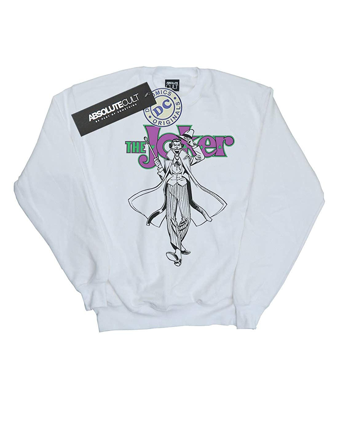 DC Comics Womens Joker Pose Sweatshirt