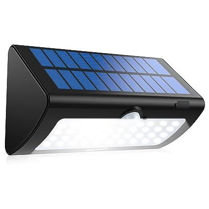 Outdoor Solar Sensor Lights Amazon housmile outdoor solar sensor light super bright motion housmile outdoor solar sensor light super bright motion sensor wall lights with 2nd generation led workwithnaturefo