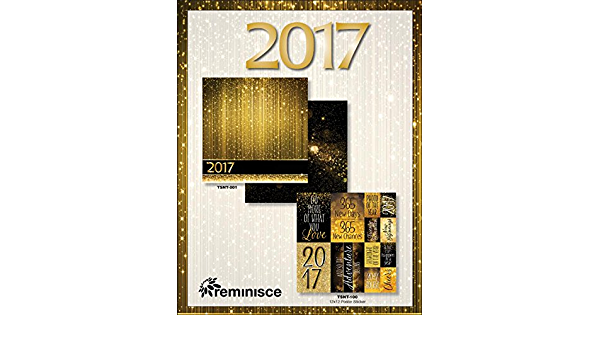 5 Sheets 2017-12X12 Scrapbook Paper by Reminisce