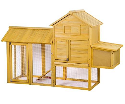 83 cm, conejera gallinero jaula casa nido de madera caja bestpet ...