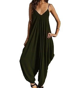 ed56c21ca51e Image Unavailable. Image not available for. Color  shine-hearty-jumpsuit  Harem Romper Jumpsuit Long Bodysuit ...