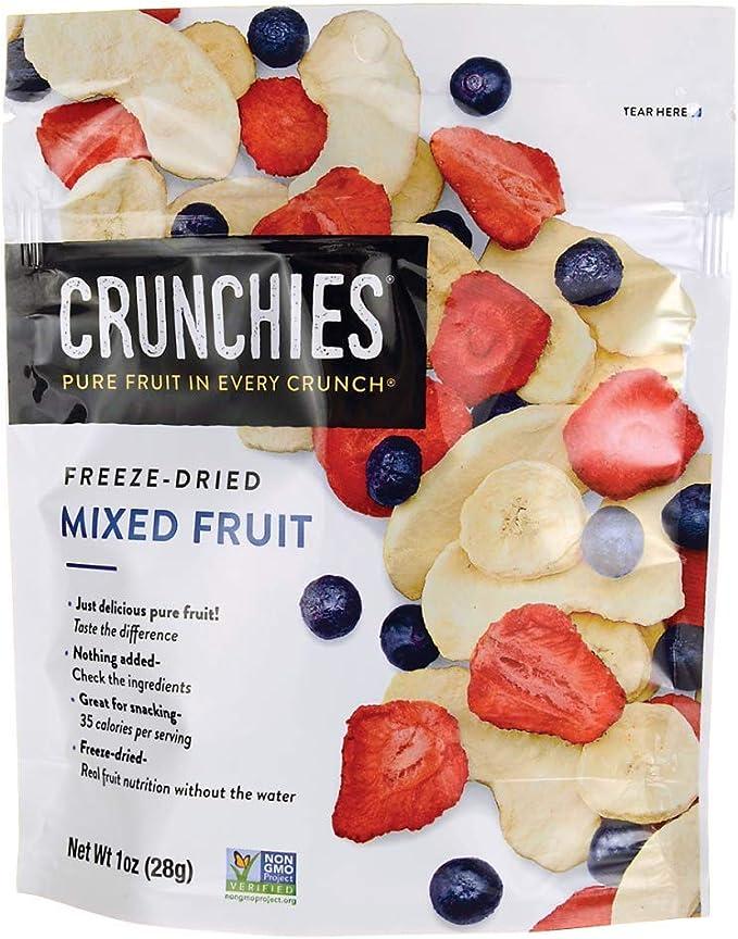 Crunchies Apples, Blueberries, Strawberries & Bananas, 1Oz/28 g: Buy Online at Best Price in UAE - Amazon.ae