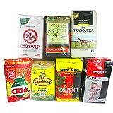 Yerba Mate Sampler 7 Pack 1.1lb Variety Flavors Bags Green Loose Leaf Herbal Tea