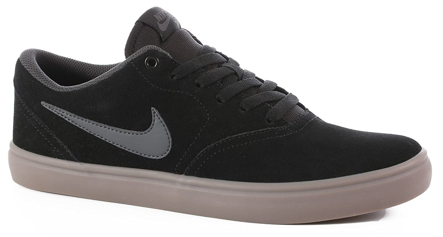 b5c796db2998 free shipping Nike SB Check Solar Men s Shoes - Black Anthracite-Gum Dark  Brown