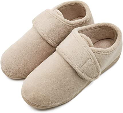Womens Diabetic Slippers Extra Wide