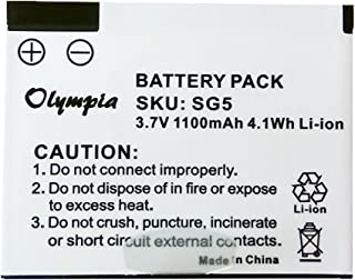 Replacement Skygolf SG5 Battery - Rechargeable Battery for Skygolf SG5 Rangefinder (1100mAh, 3.7V, Li-Ion)