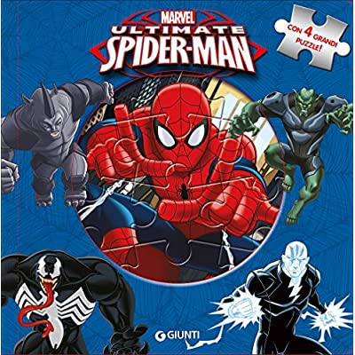 Ultimate Spider Man Libro Puzzle Ediz A Colori