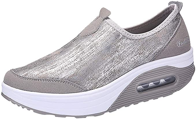 POLP Calzado Zapatos Malla Tejida voladora Soles cómodos Ejecutan Zapatos Deportivos Transpirable Sneakers Calcetines Plataforma Zapatos Cuña Azul Mujer Plataforma Otoño Invierno 35-41: Amazon.es: Ropa y accesorios