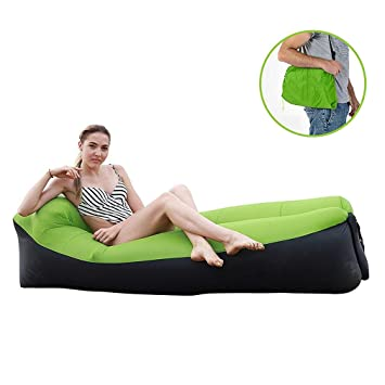 Teechaa Air Lounger, sofá Hinchable, Impermeable, sofá Hinchable ...
