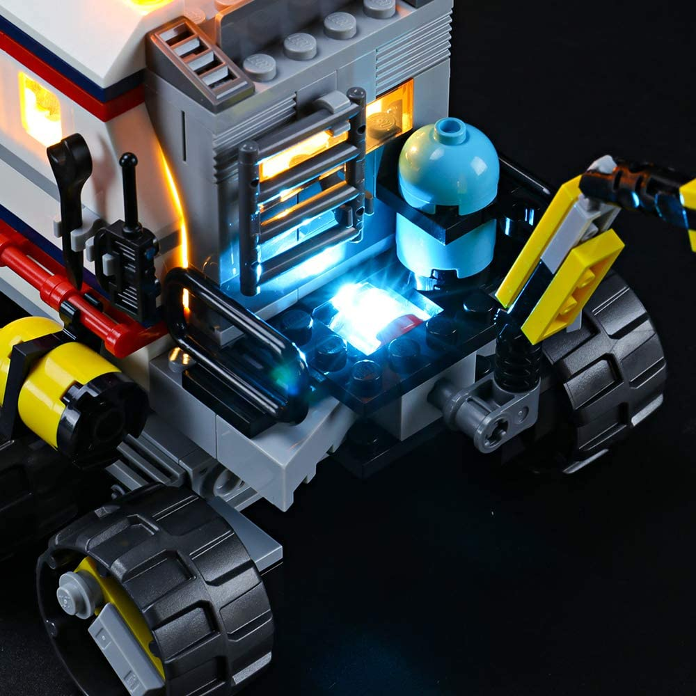 Not Include The Lego Set Compatible with Lego 31107 Building Blocks Model BRIKSMAX Led Lighting Kit for Space Rover Explorer