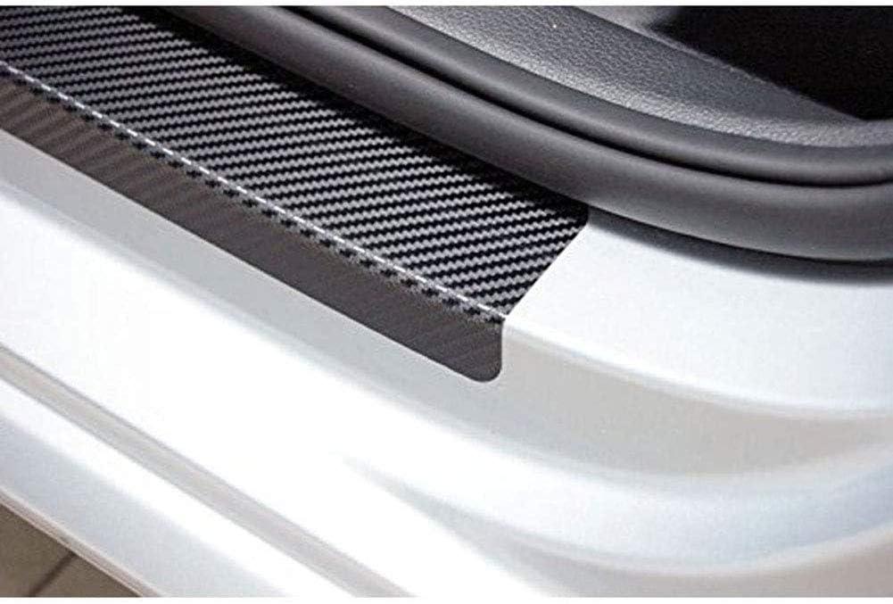 Willkommen Pedal Scuff Threshold Bar Schutzaufkleber Streifen Plate Protector AEVEILS 4PCS Kohlefaser Auto Einstiegsleisten T/ürschweller F/ür Ford Cmax C-max