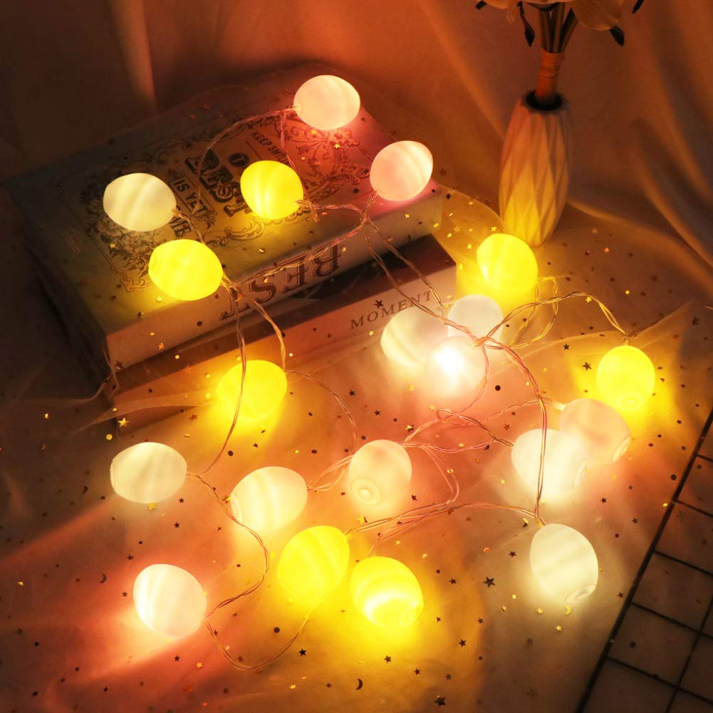Amor Easter Egg Lights String Easter Decorations String Lights for Easter Halloween Christmas Holidy Party Home Decor