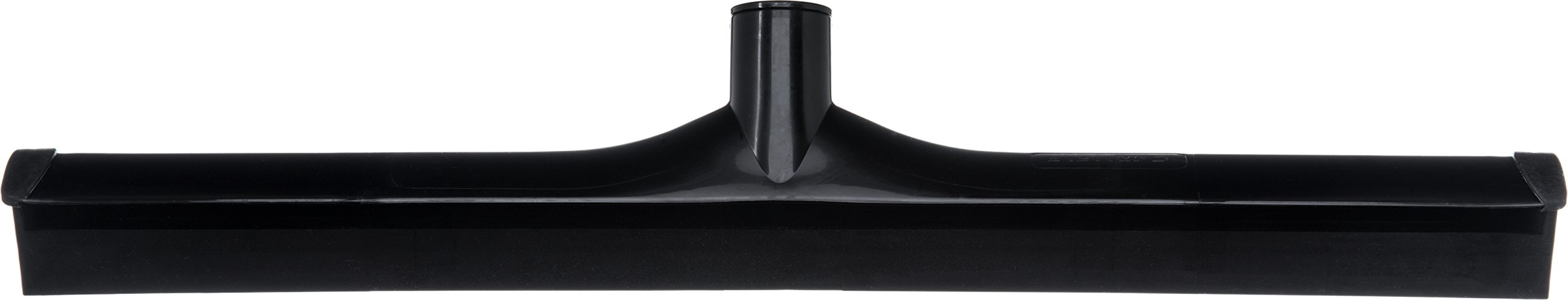 Carlisle 3656703 Solid One-Piece Foam Rubber Head Floor Squeegee, 20'' Length, Black (Case of 6) by Carlisle