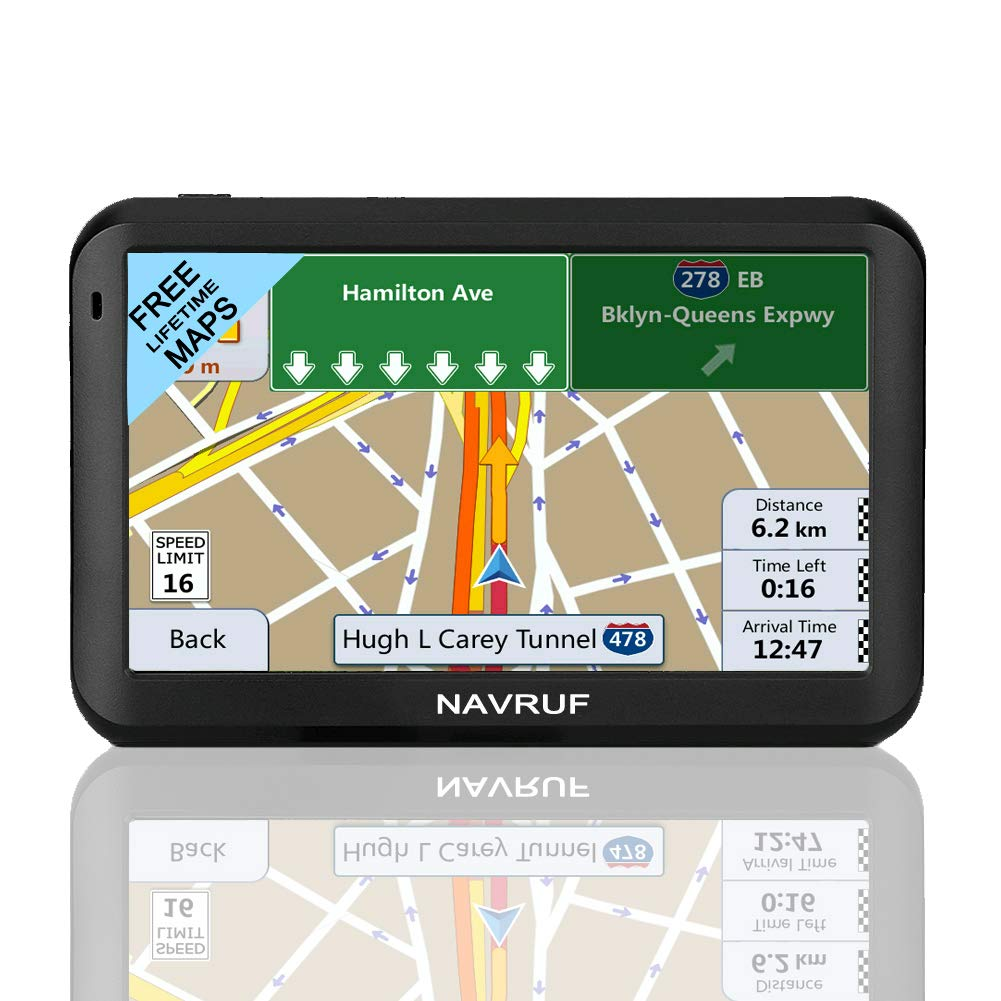 camion capacitivo camion caricatore navigatore satellitare Sistema di navigazione GPS Sat Nav caricatore navigatore satellitare a 5 pollici da 8GB navigatore satellitare 256 MB
